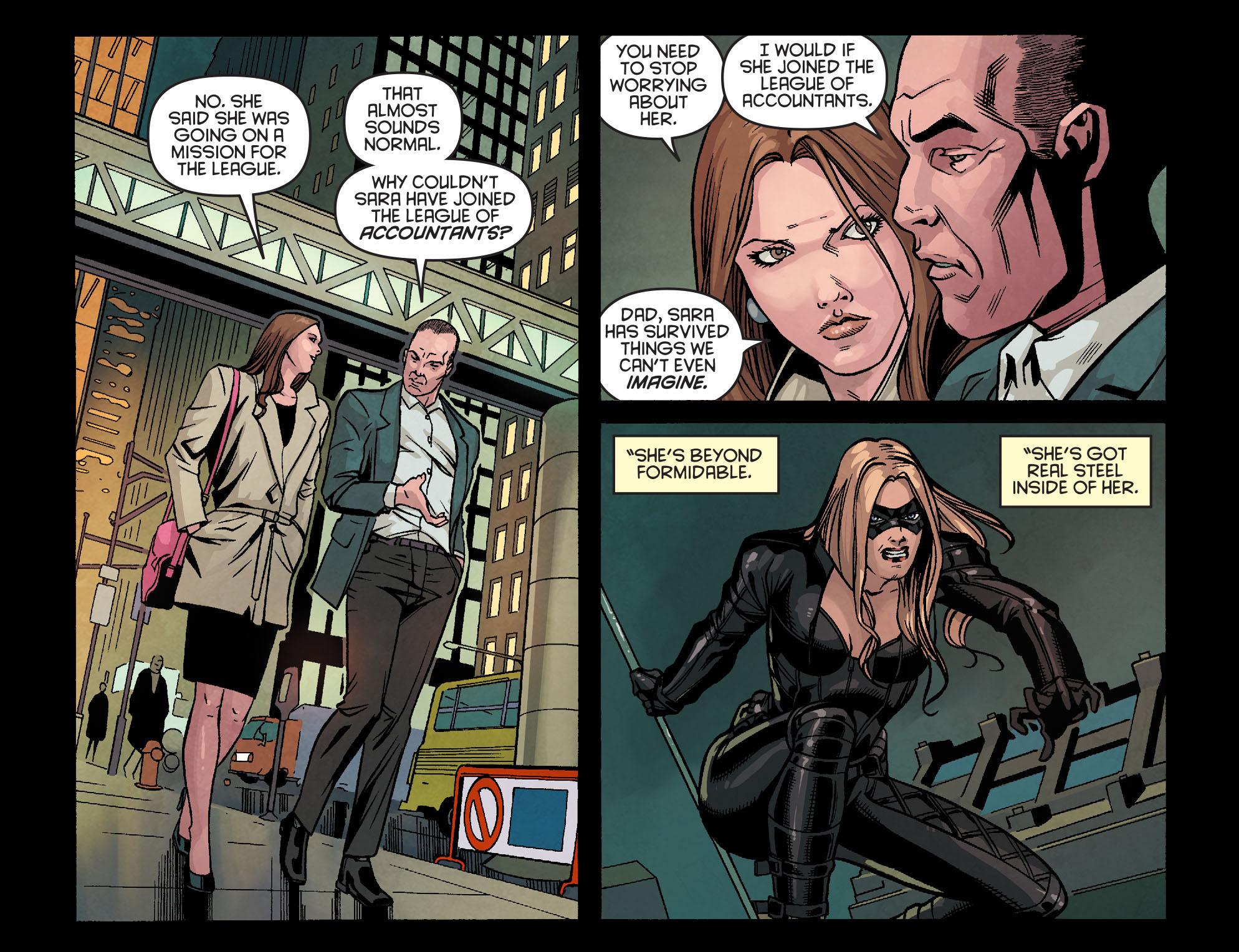 Read online Arrow: Season 2.5 [I] comic -  Issue #24 - 5