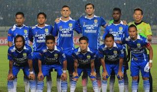 Persib Bandung Bawa 20 Pemain ke Gresik