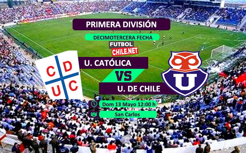 Universidad Católica vs Universidad de Chile: Previa, horario, dónde ver en vivo por TV y online por la Primera División