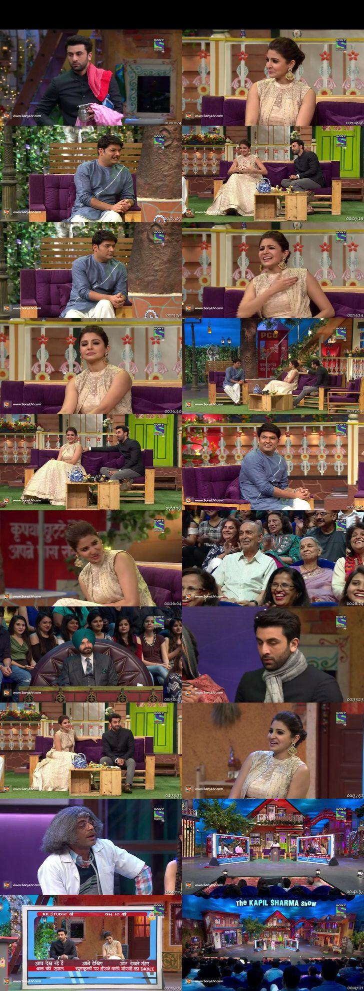 Screen Shot Of The Kapil Sharma Show 23rd October 2016 Episode 54 300MB Watch Online