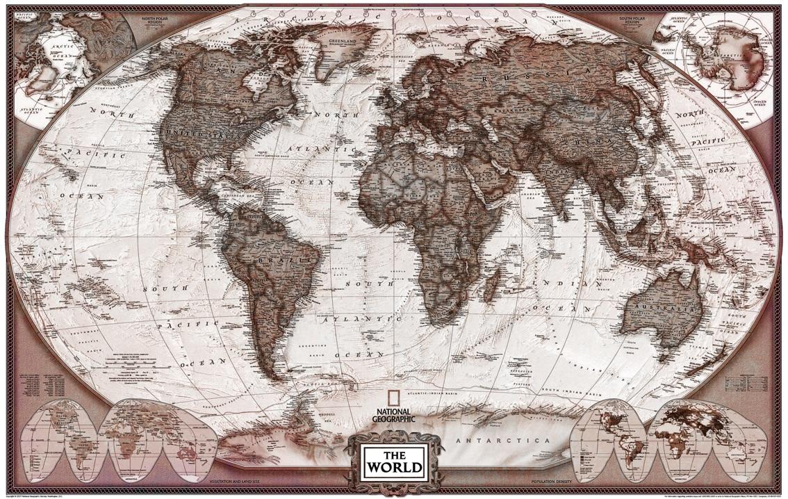mapa mundi enferrujado envelhecido vintage