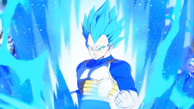 Dragon Ball FighterZ Vegeta SSGSS