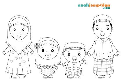 Gambar Kartun Islam Mewarnai