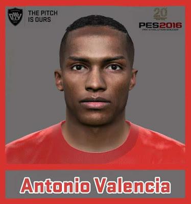 PES 2016 Antonio Valencia New Face