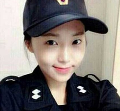 polwan korea tercantik