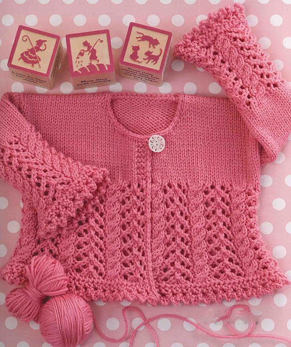 Crocheting Yarn Shop : Cardigan for baby Crochet yarn store - Yarns Patterns in Crochet