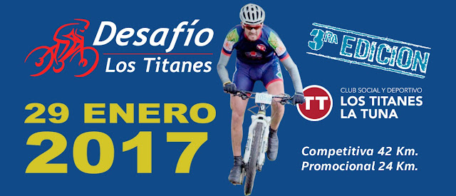MTB - Desafío Los Titanes (Los Titanes - La Tuna - Canelones; 29/ene/2017)