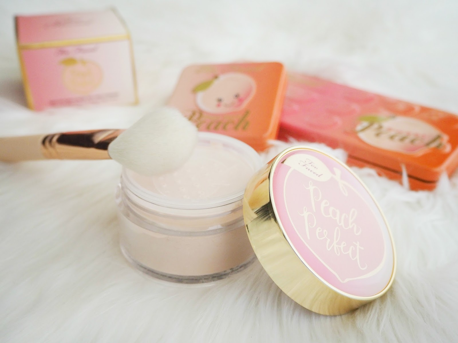 Peach Perfect Mattifying Loose Setting Powder by Too Faced #6