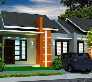 Minimalist House Front View