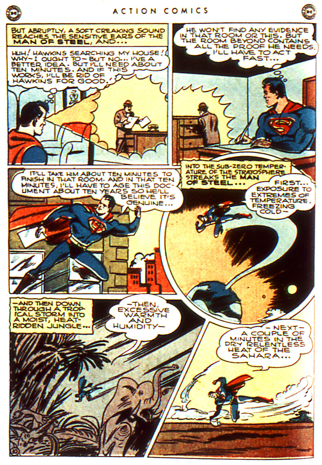 Read online Action Comics (1938) comic -  Issue #100 - 12