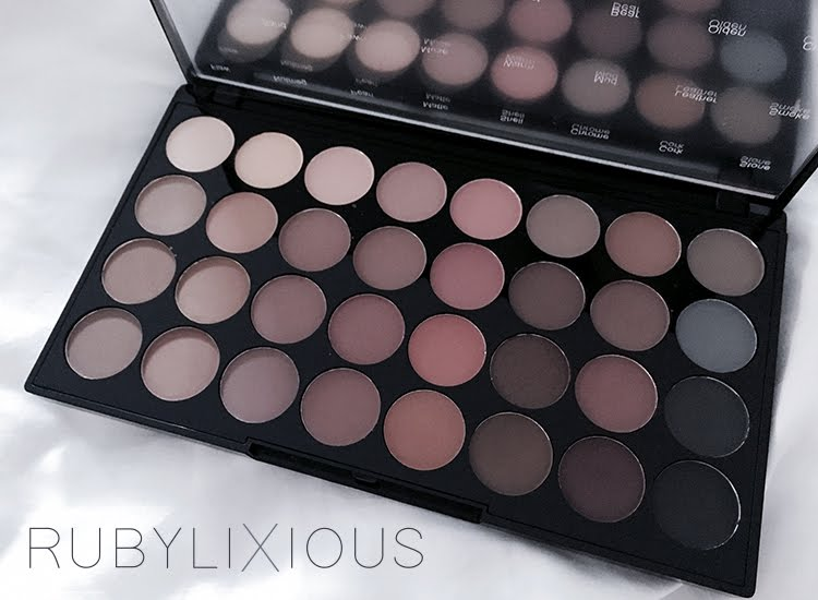 makeup revolution, london, palette, beauty