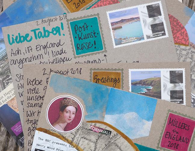 Postcards from England ©muellerinart