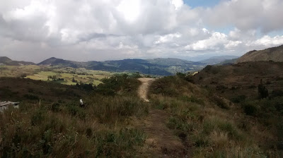 Nice views on the way to Choachi from Bogotá, Colombia ...
