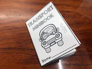 Cómo hacer un minibook para el aula de inglés