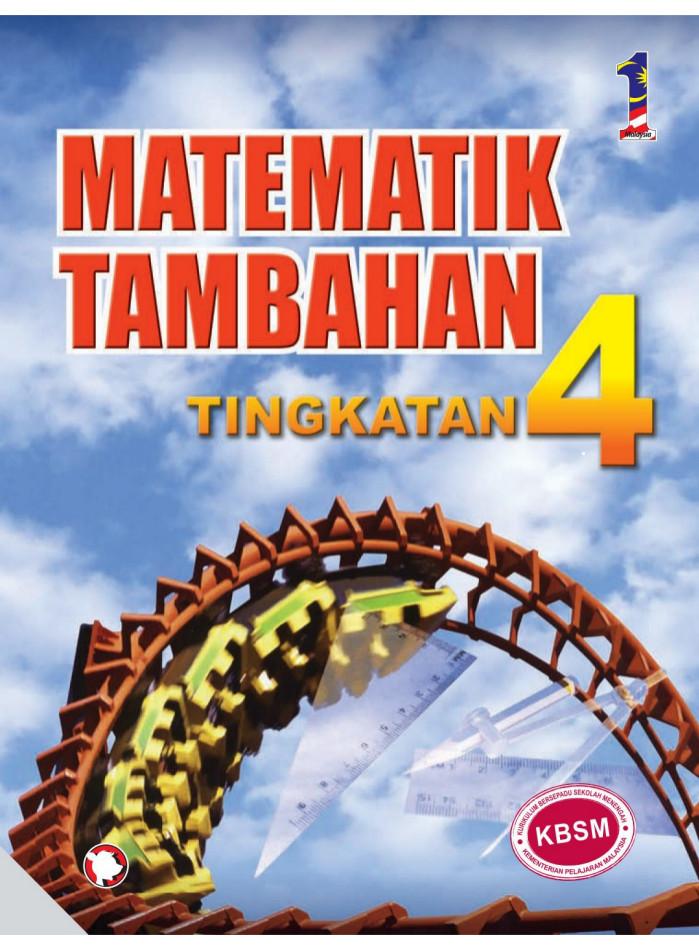 Buku Teks Matematik Tambahan Tingkatan 5 Jawapan