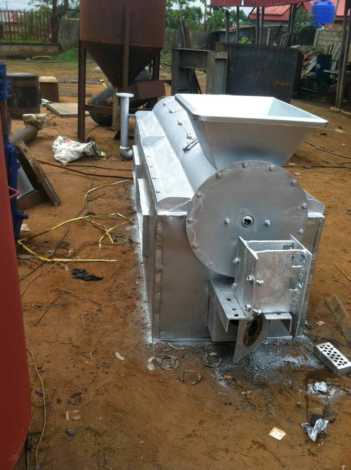 Obincowelds Construction Company Ltd : MECHANIZED GARRI FRYING EQUIPMENT