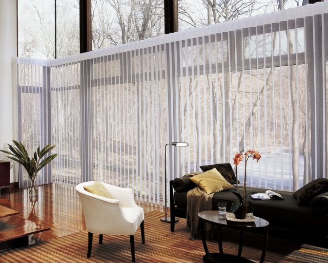 Sliding GLASS Door WINDOW Treatments Ideas