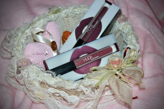 HUDABEAUTY Liquid Matte Lipstick : Review and Swatches