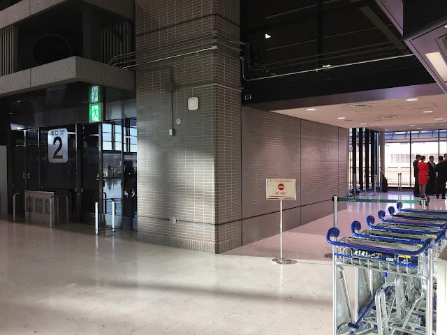 成田空港第2ビルNカウンター Narita Airport T2 N counter 3