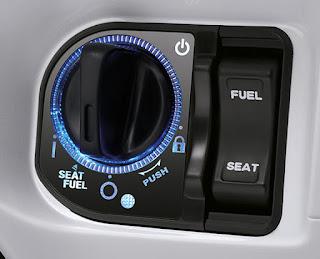 Smart Key System  Sebuah teknologi canggih yang dikendalikan oleh remote, dimana tidak lagi memerlukan kunci mekanis untuk menghidupkan mesin dan mengunci stang. Terintegrasi dengan Immobilizer, sistem keamanan Anti Theft Alarm dan Answer Back System untuk mempermudah mencari posisi motor di lokasi parkir.