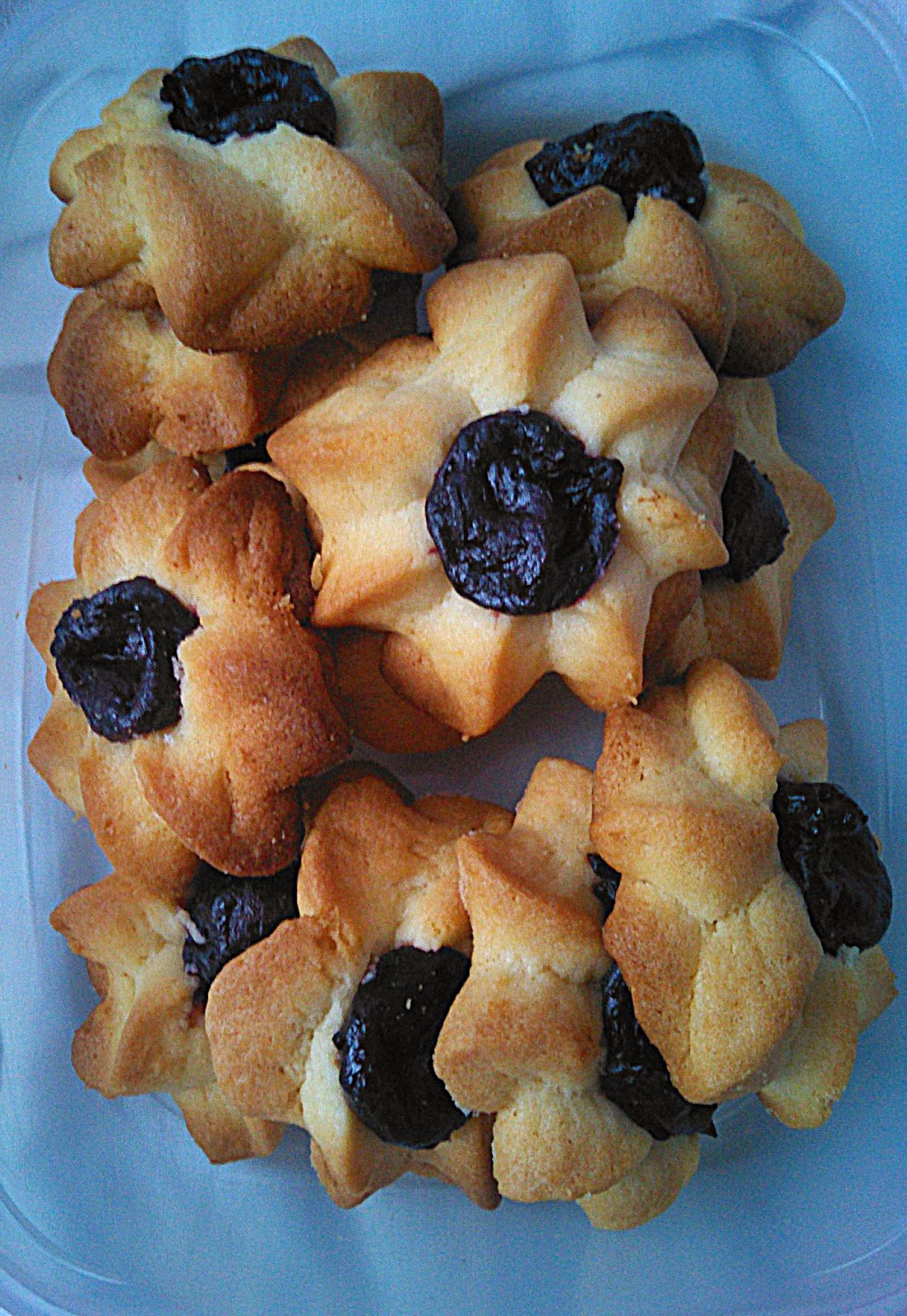 Karbowane ciasteczka.