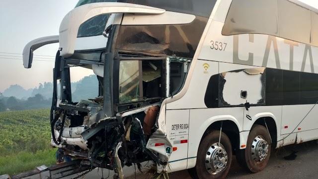 Acidente deixa um morto e três feridos na BR-373 em Imbituva