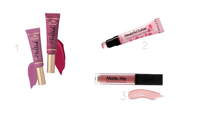 Sélection maquillage lèvres