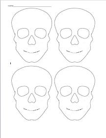 Art with Mrs. Kennedy: 7th Grade 3-D: Sugar Skulls