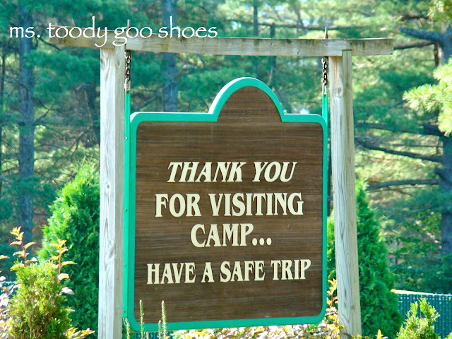 "Letters From Camp: ""What I Need For Visiting Day by Ms. Toody Goo Shoes"