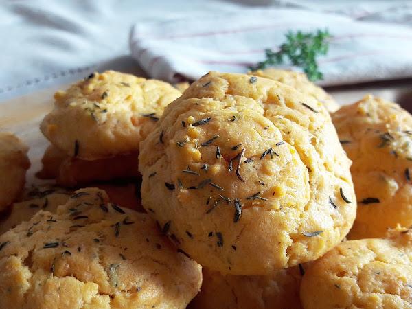 Cookies salés chèvre frais et tomates séchés