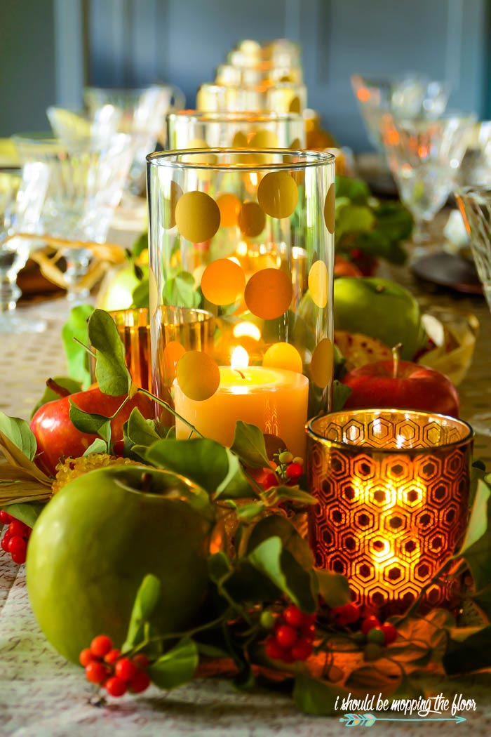 Easy Fall Centerpiece