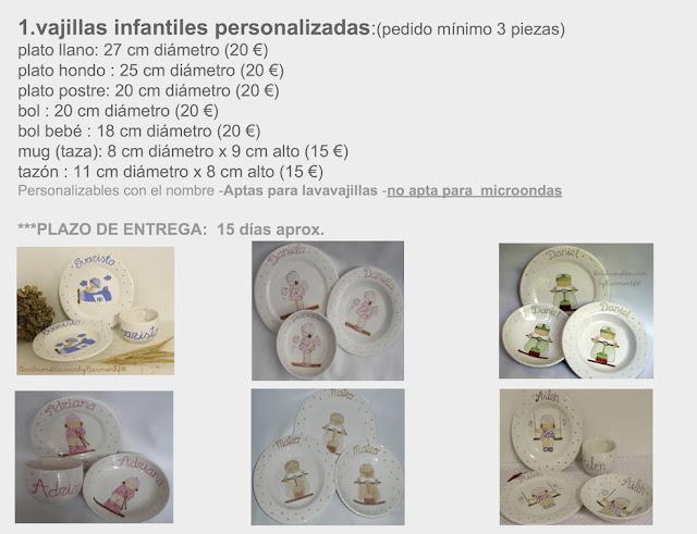 vajillas-infantiles-precios