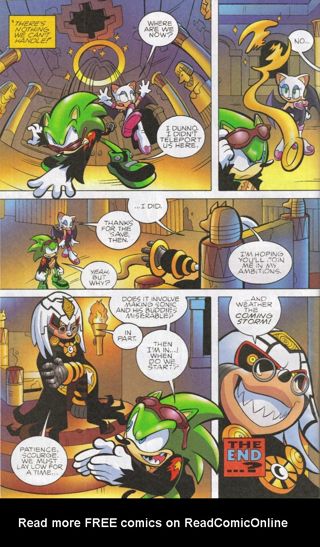 Read online Sonic The Hedgehog comic -  Issue #161 - 20