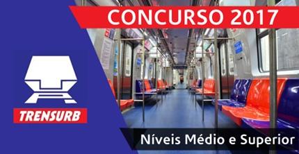 Concurso TRENSURB 2017 - Metrô de Porto Alegre