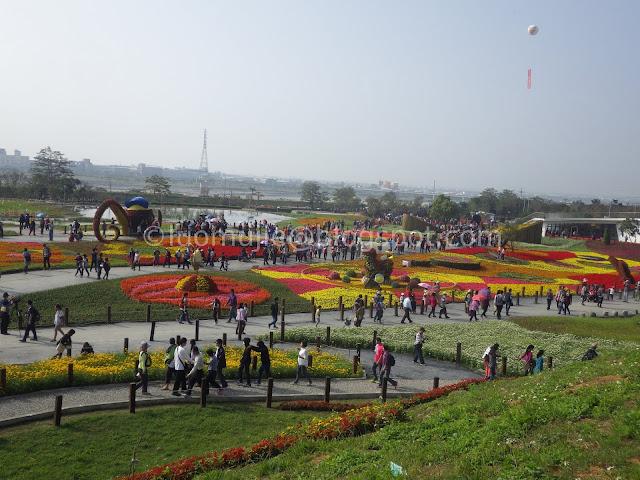 Taichung flower festival