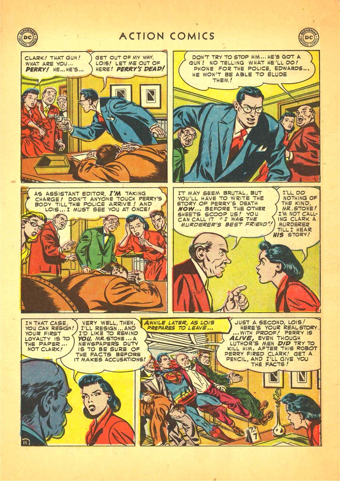 Read online Action Comics (1938) comic -  Issue #166 - 12