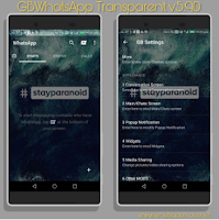 Free Download GBWhatsApp Transparent Mod Apk Terbaru 2018
