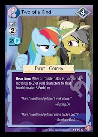 My Little Pony Two of a Kind Absolute Discord CCG Card