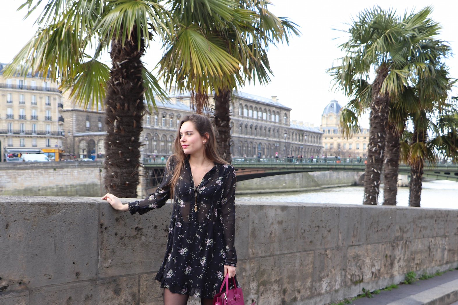 robe volantée H&M 2
