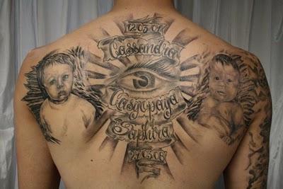 tato di punggung paling bagus