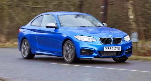 BMW M235i warna biru
