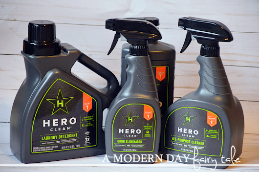 Get Rid of Boy Stink & Support Veterans Too with Hero Clean {A Review & Giveaway}