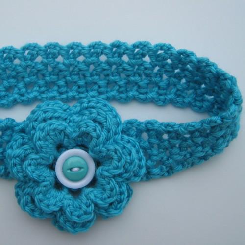 Turquoise Headband - Free Pattern
