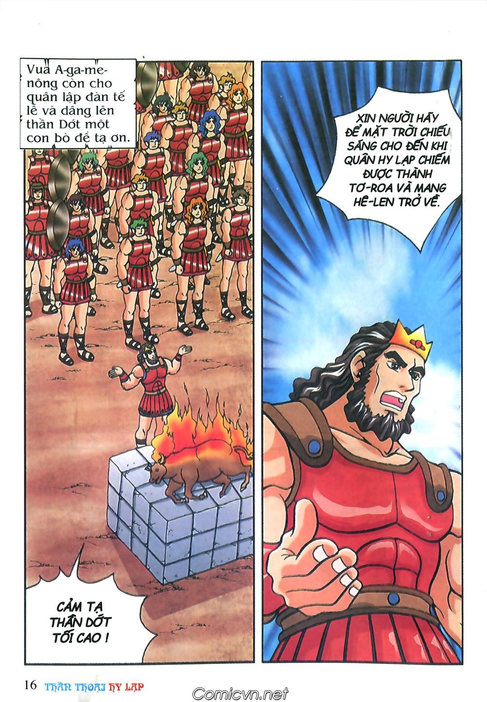 Thần Thoại Hy Lạp Màu - Chapter 57: Cuộc chiến định mệnh - Pic 15