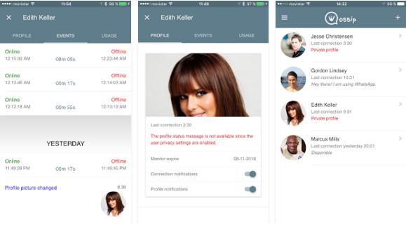 تطبيق يمكنك من تجسس على صديقك على الواتساب