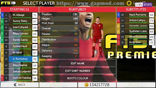 Download FTS 19 Premier by Aaf Azril Apk Data Obb for Android