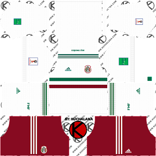 Mexico 2018 World Cup Kits -  Dream League Soccer Kits