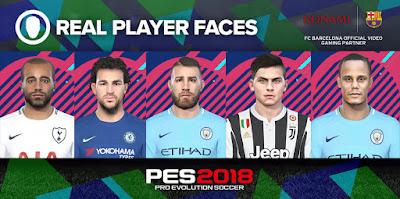 PES 2018 Facepack Vol 2 by Denis
