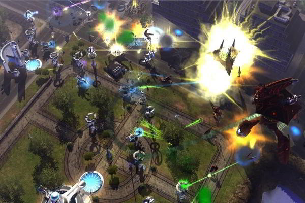 Universe at War Earth Assault PC imagen 002 -