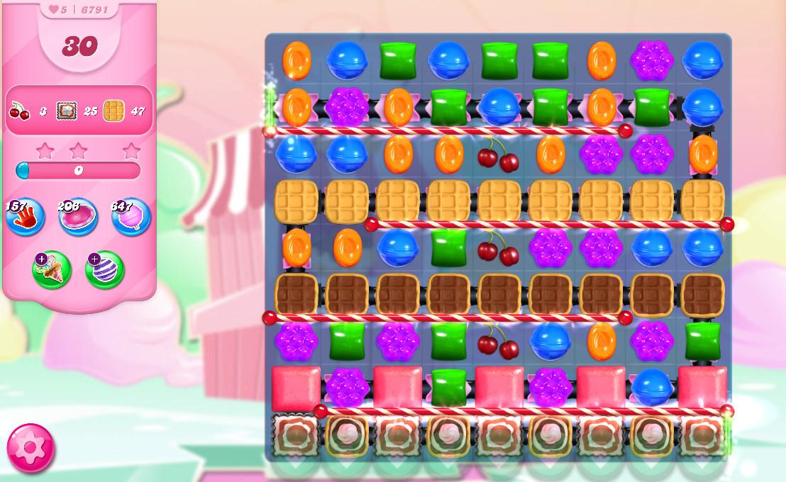 Candy Crush Saga level 6791